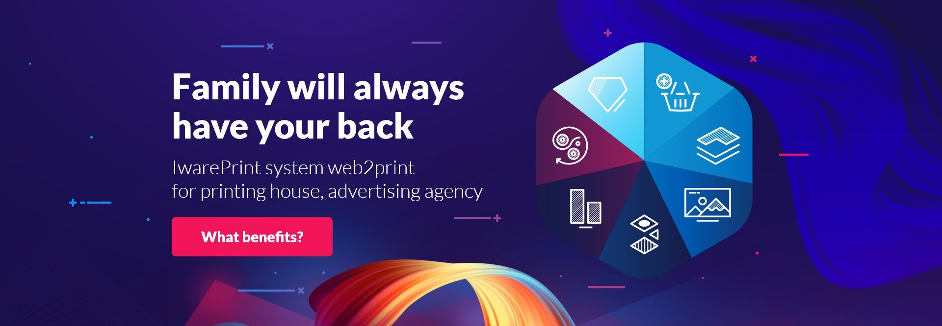 Family will always have your back - IwarePrint top Banner image