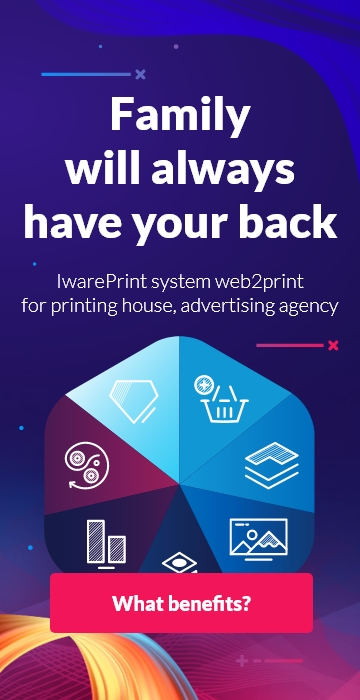 Family will always have your back - IwarePrint top Banner image for Mobile